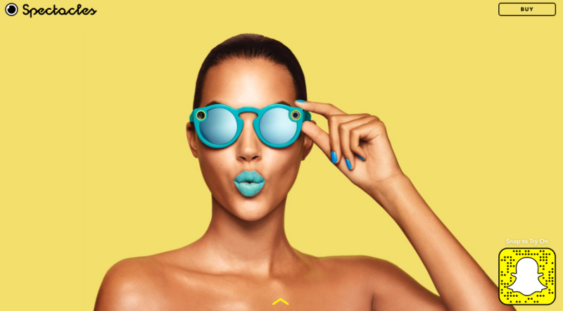 Top Digital Stories : Snapchat Spectacles