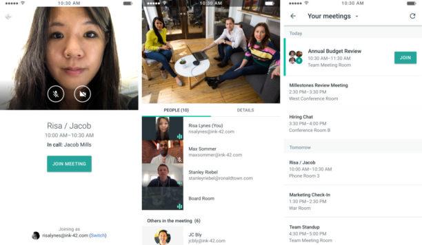 Actu web - Google Meet
