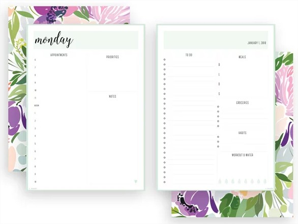 Free Printables : To-Do Lists & Daily Planners - Coffee with Clémentine