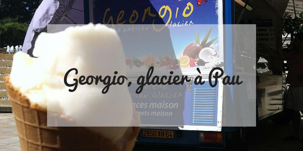 Georgio, glacier à Pau
