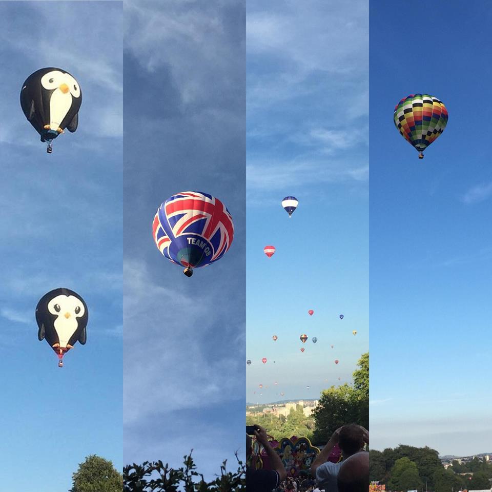 Festival International de montgolfières de Bristol - Blog un café avec Clémentine