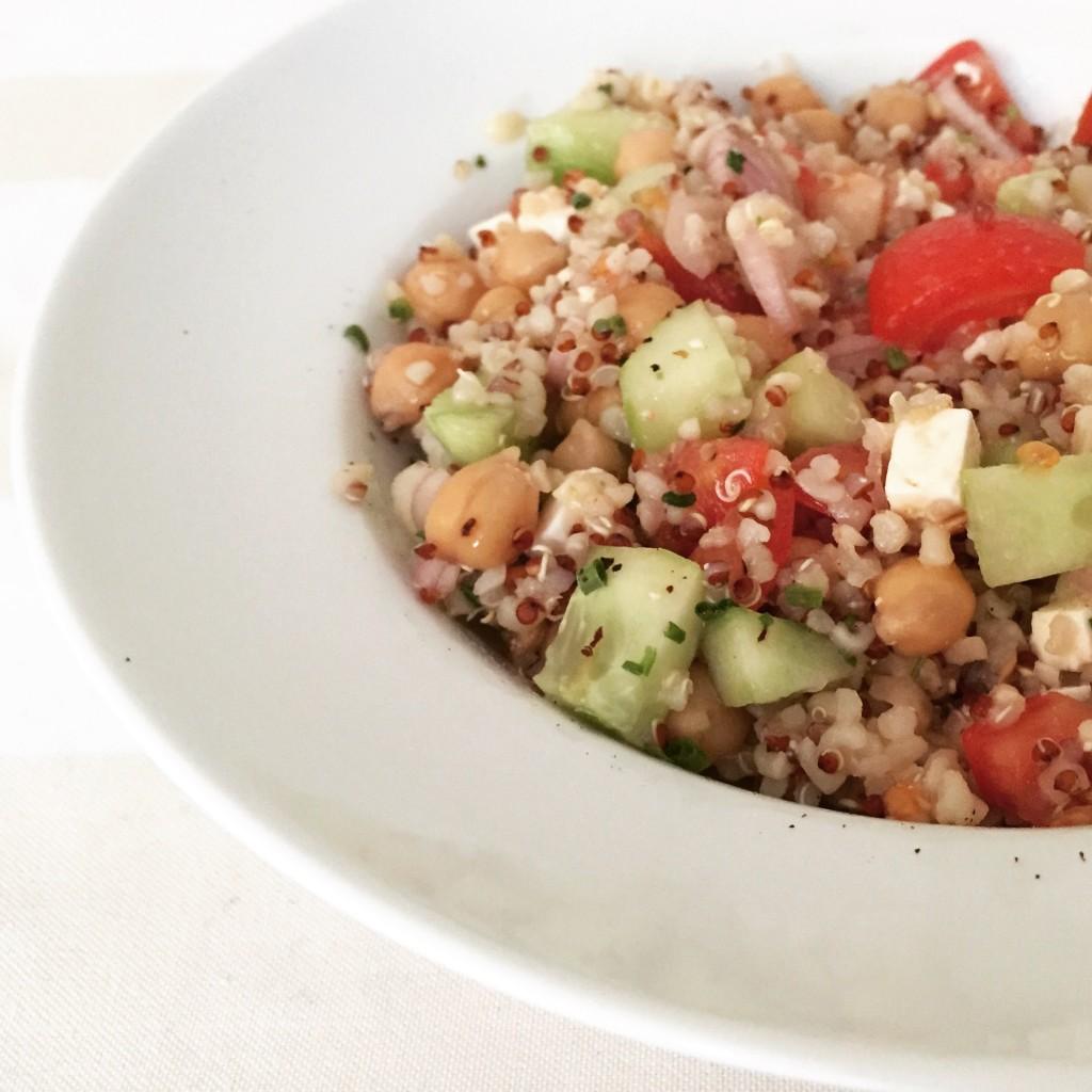 Salade complète façon taboulé - Blog un café avec Clémentine