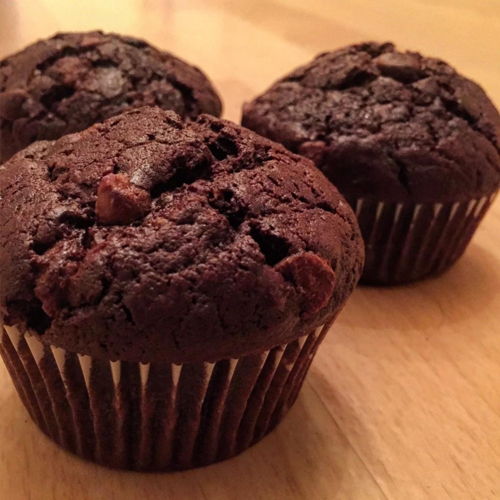 Muffins au chocolat - Blog un café avec Clémentine