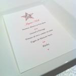Modèle de menu de Noël à imprimer