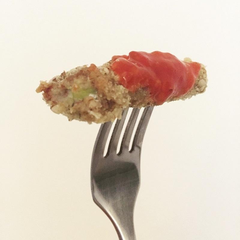 Frites de courgette