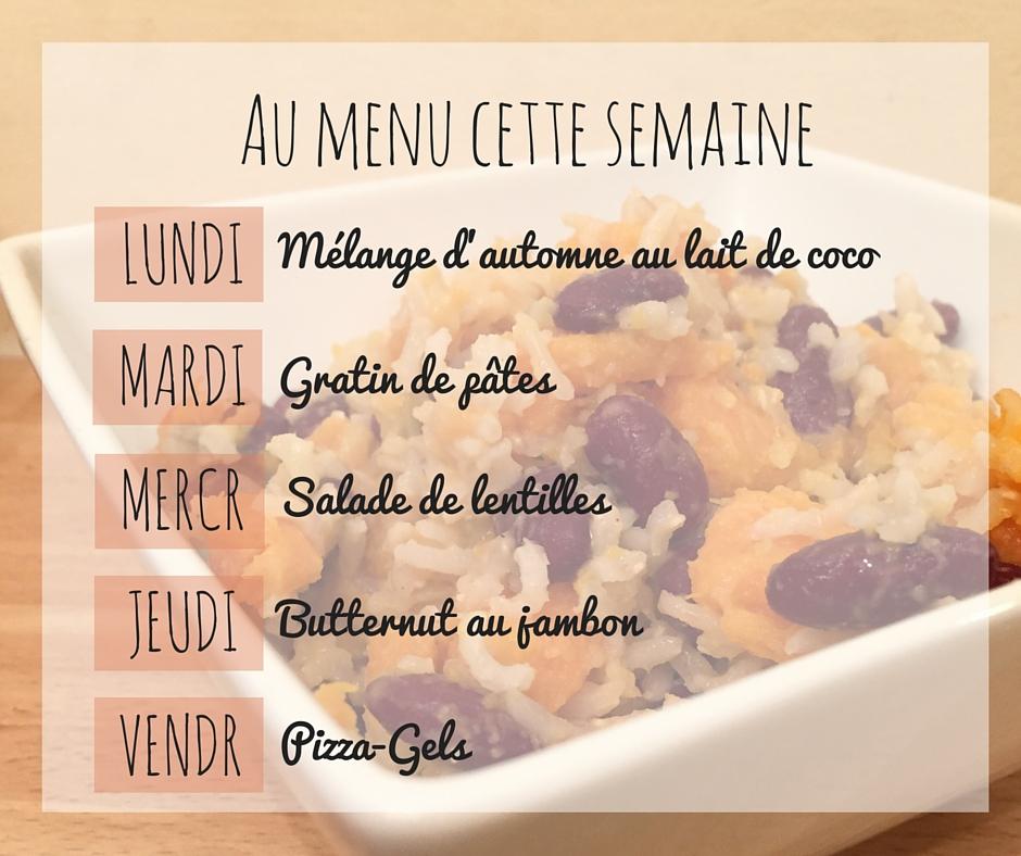 Idées de repas