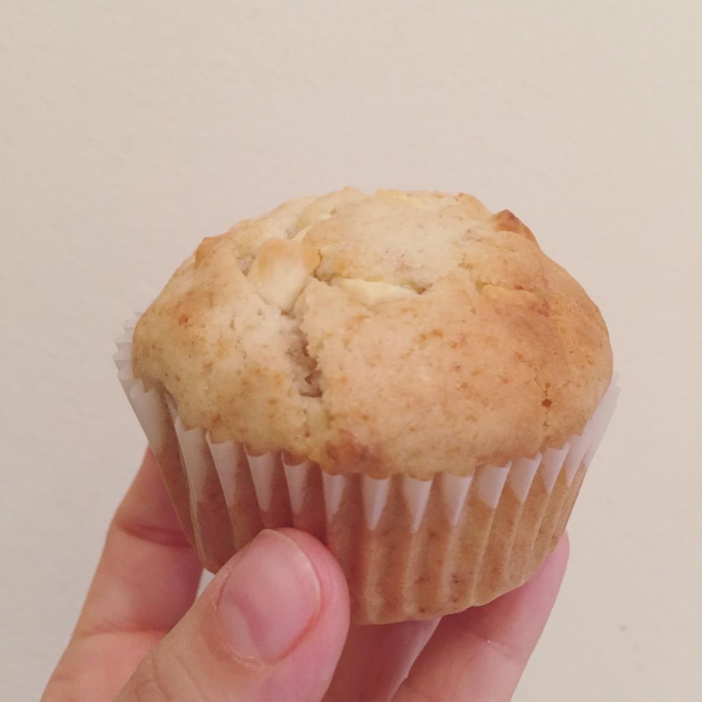 Muffins pour utiliser deux bananes trop mûres