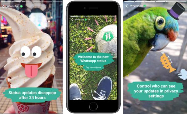 Actu Web : WhatsApp lance ses nouveaux statuts (Stories)