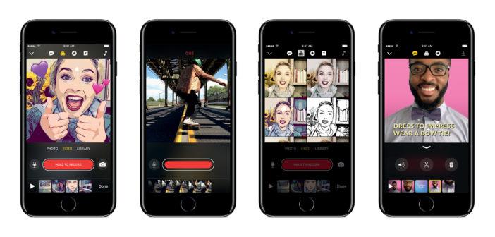 Clips, la nouvelle application vidéo d'Apple qui va donner des sueurs froides à Instagram et Snapchat