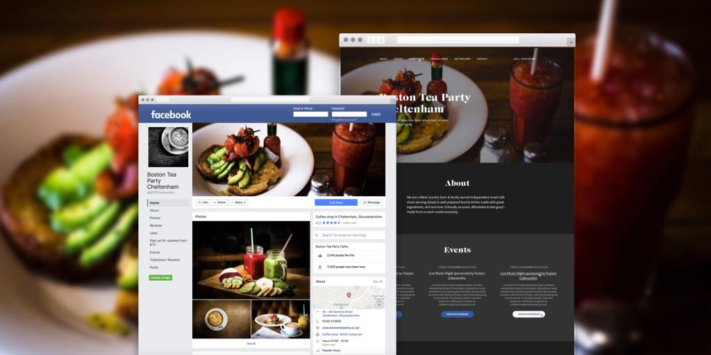 Ekko. Créer un site web à partir de votre page Facebook