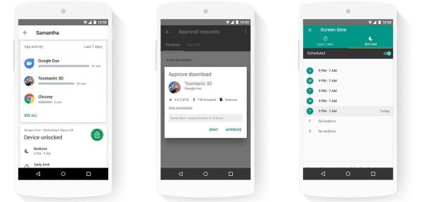 Family Link : Google sort une app de contrôle parental dédiée aux smartphones