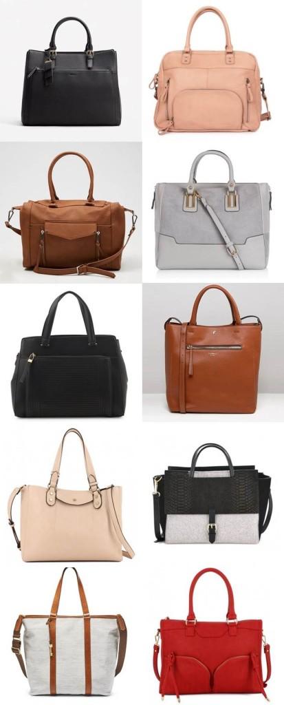 10 sacs à main de working-girl (ou comment aller au travail avec style et son ordinateur) Pin