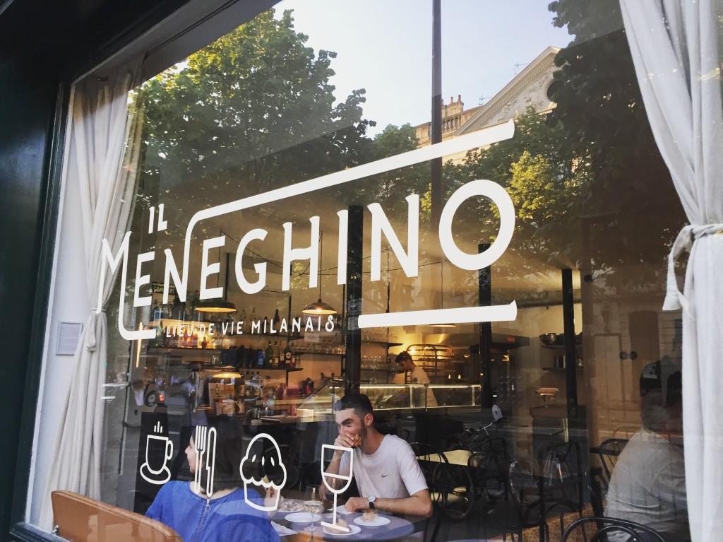 Il Meneguino - Bordeaux (un café avec Clémentine)