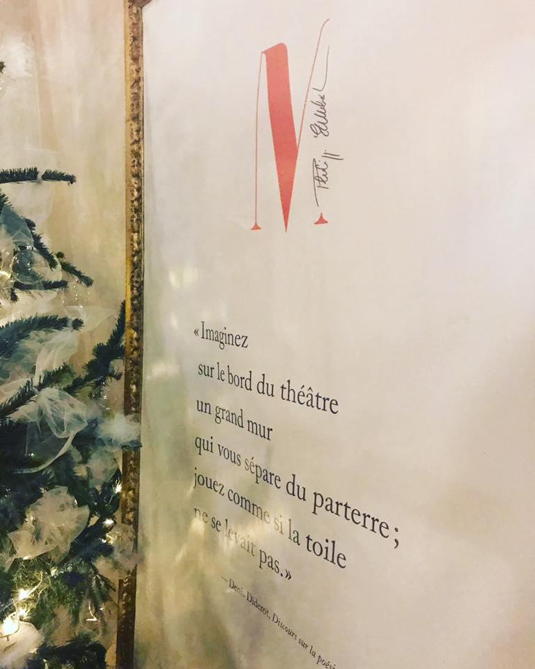 Restaurant quatrième mur - bordeaux - un café avec Clémentine (1)