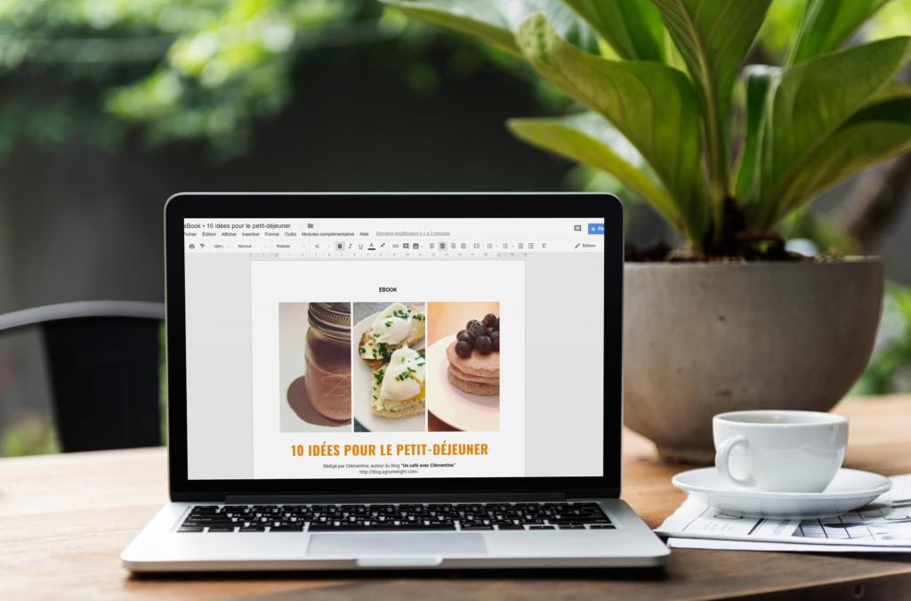 eBook • 10 idées pour le petit-déjeuner - un café avec Clémentine (1)