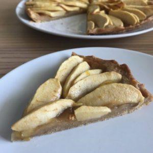 Tarte aux pommes - Blog un café avec Clémentine